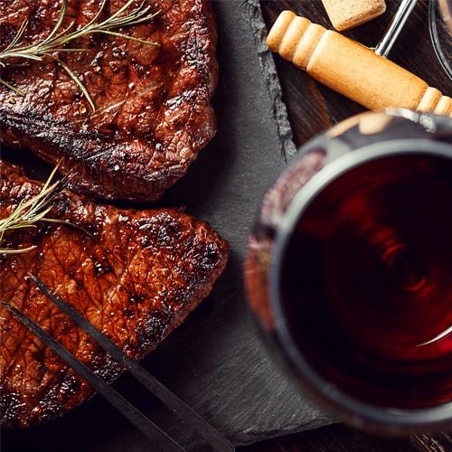 Waarom passen vlees en wijn zo goed bij elkaar?