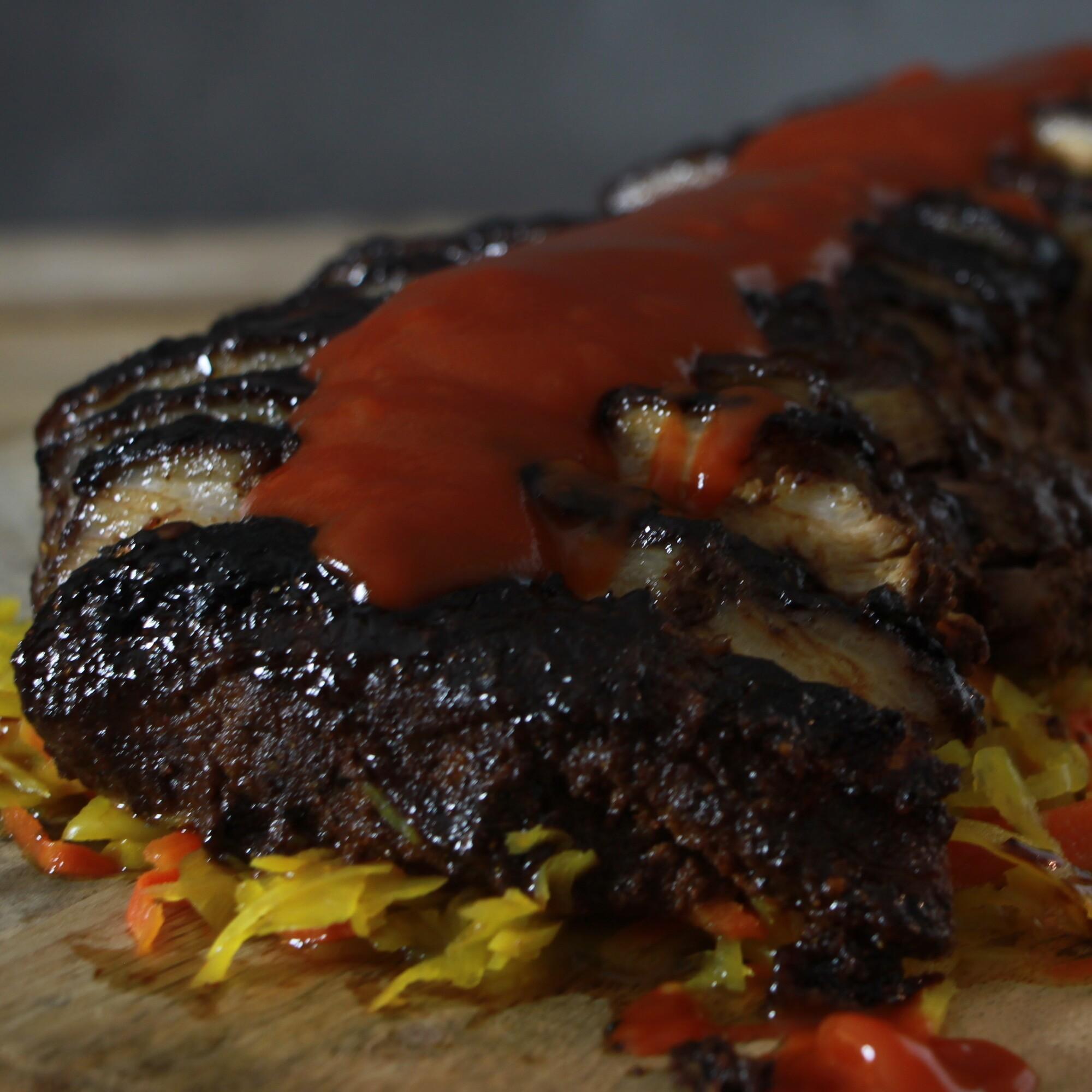 BBQ Babi Pangang van buikspek