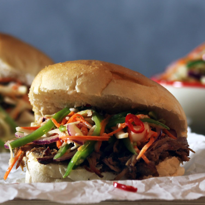 Broodje Indonesische Pulled Pork (a la BBQ Junkie)